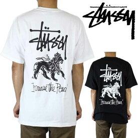 Stussy ステューシー Tシャツ 半袖 ITP Increase The Peace Lion Tee インクリース ザ ピース メンズ ブランド ストリート ファッション