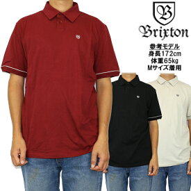BRIXTON ブリクストン ポロシャツ 半袖シャツ Carlos S/S Polo Knit