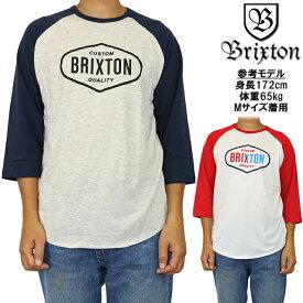 BRIXTON ブリクストン ラグランスリーブ 七分袖 Tシャツ Oakland 3/4 Slv Tee