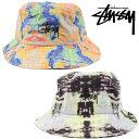 クリックポスト対応Stussy ステューシー ハット バケット 帽子 Leary Bucket Hat ストリート ファッション メンズ レディース 132924
