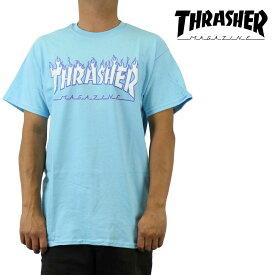 クリックポスト対応スラッシャー Thrasher Tシャツ 半袖 Flame Logo メンズ ブランド ストリート