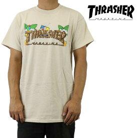 クリックポスト対応スラッシャー Thrasher Tシャツ 半袖 Tiki チキ メンズ ブランド ストリート