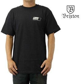 クリックポスト対応Brixton ブリクストン 半袖 Tシャツ Segal S/S Standard Tee ウォッシュド ブラック サーフ スケート スノー ウェッジ メンズ トップス
