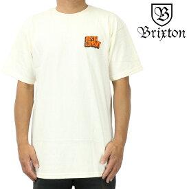 Brixton ブリクストン 半袖 Tシャツ Intake S/S Standard Tee オフホワイト サーフ スケート スノー ウェッジ メンズ トップス