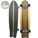 スラスター ウッディープレス スケートボード コンプリート CLASSIC FISH 36(長さ91cm) スケボー サーフスケート