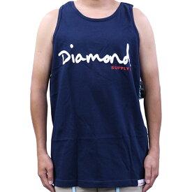 Diamond SUPPLY.CO ダイヤモンド サプライ OG Script Tank メンズ タンク トップ スケートボード スケボー ストリート ブランド