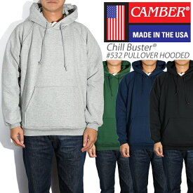 CAMBER キャンバー パーカー スウェット チルバスター #532 CHILL BUSTER PULLOVER