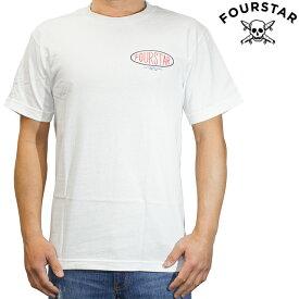 FOUR STAR フォースター Tシャツ 半袖 メンズ Oval Type Tee