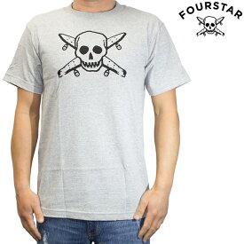 FOUR STAR フォースター Tシャツ 半袖 メンズ Street Pirate Tee