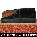 VANS ヴァンズ Chukka Boot BLACK/BLACK ( 23-30cm )【バンズ チャッカ ブーツ 黒 靴 シューズ Vans ヴァンズ スニーカー スケボー スケートボード スケシ