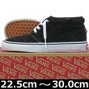 VANS ヴァンズ バンズ Chukka Boot BLACK/WHITE ( 22.5-30cm )【バンズ チャッカ ブーツ 黒 靴 シューズ Vans ヴァンズ スニーカー スケボー スケートボ