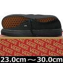VANS ヴァンズ Classic Authentic Black/Black ( 23-30cm )【VANS ヴァンズ ばんず オーセンティック キャンパス USA企画 クラシック シューズ スニ