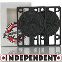 スケートボード スケボー ライザーパッド Independent Riser Pads 1/8 1/4 パーツ 純正