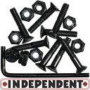 INDEPENDENT インディペンデント Allen Hardware 六角 8本セット スケートボード スケボー パーツ ボルト ナット ビス