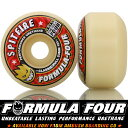 SPITFIRE スピットファイア Formula Four Classic Full Shape Wheels 101DURO 52/53mm スケートボード...