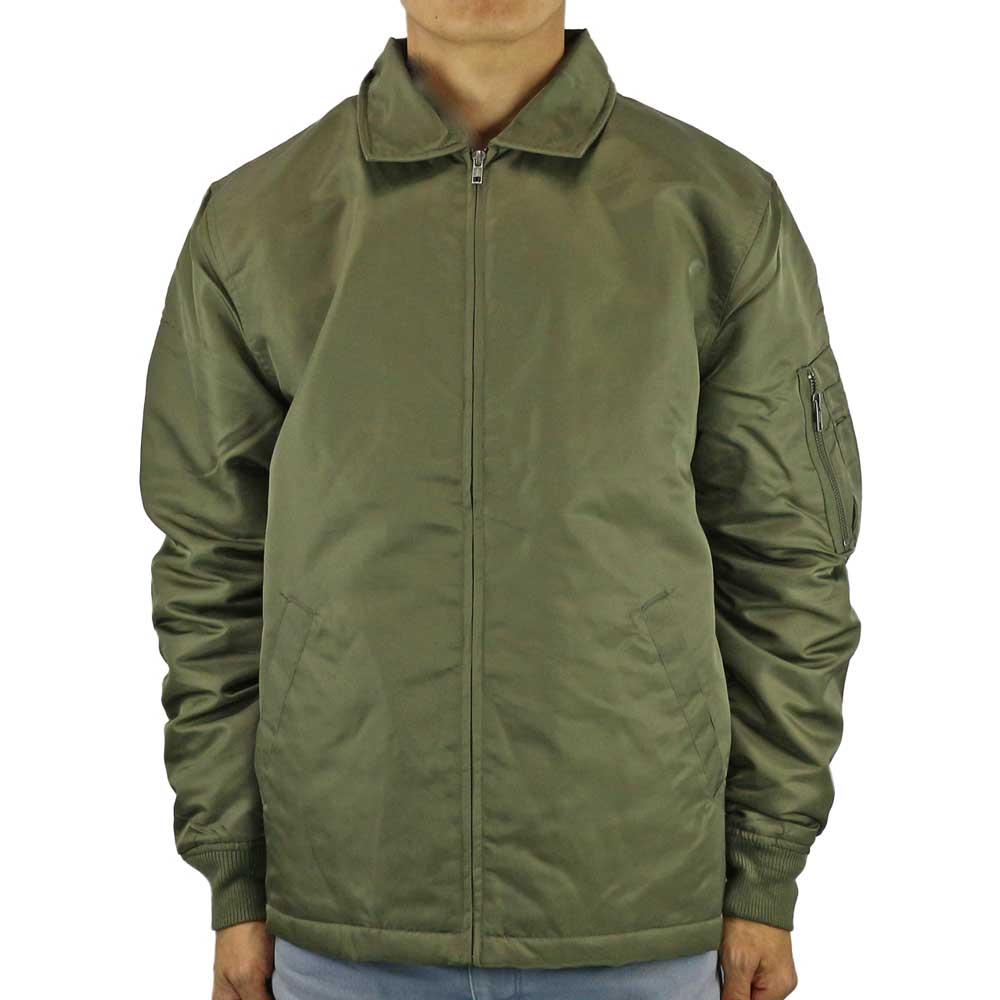 ポイント5倍UP STUSSY ステューシー Flight Jacket Olive フライトジャケット オリーブ メンズ ストリート ファッション 17HO