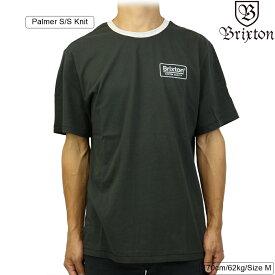 Brixton ブリクストン Palmer S/S Knit (Washed Black) パルマー メンズ ストリート 半袖 ニット シャツ