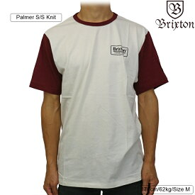 Brixton ブリクストン Palmer S/S Knit (Off White) パルマー メンズ ストリート 半袖 ニット シャツ