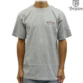 Brixton ブリクストン 半袖 Tシャツ Cinema S/S Standard Tee ヘザーグレー サーフ スケート スノー シネマ メンズ トップス