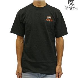 Brixton ブリクストン 半袖 Tシャツ Slade S/S Standard Tee ブラック サーフ スケート スノー スレード メンズ トップス