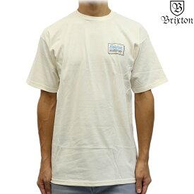 Brixton ブリクストン 半袖 Tシャツ Equipped S/S Standard Tee オフホワイト サーフ スケート スノー イクイップド メンズ トップス