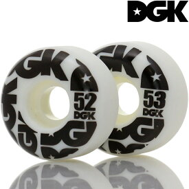 DGK ディージーケー スケボー ウィール Street Formula Wheels 101A 52/53mm スケートボード パーツ ハード ストリート