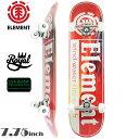 スケボー コンプリート スケートボード プレミアム ELEMENT エレメント PREMIUM COMPLETE Element Section Split 7.75…