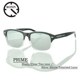 aaee6d4be68233 ロニン サングラス 偏光レンズRonin Eyewear ロニンアイウェアー UVカット PRIME Black/Clear Two