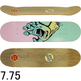 Santa Cruz サンタクルーズ スケボー スケートボード デッキ Pastel Screaming Hand 7.75inch