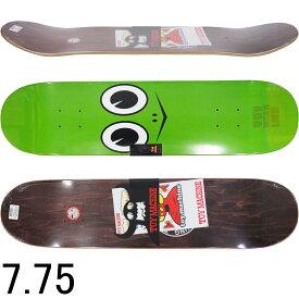 スケボー デッキ スケートボード TOY MACHINE トイマシーン TM TURTLE FACE 7.75inch