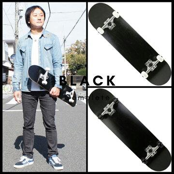 楽天市場カットバックの人気ナンバーワンのスケートボードコンプリートブラックカラー画像です。