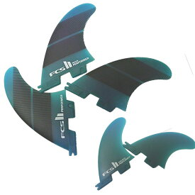FCS2 サーフィン フィン Performer Neo Glass Tri-Quad 5枚セット Mサイズ 65kg-80kg