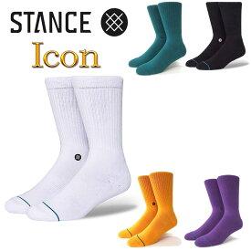 スタンス ソックス アイコン Stance Socks Icon メンズ L 25.5-29.0cm 大定番 メンズ ファッション 靴下