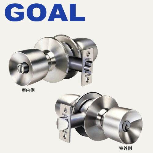 GOAL(ゴール) ユニロック 円筒錠 US-5E型 ドアノブ セット5ピンシリンダー仕様US-5E 02P09Jul16