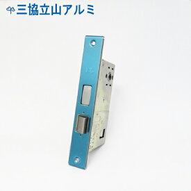 三協立山アルミ 玄関 錠ケース MIWA PE-02 箱錠 交換 取替えバックセット51mm プッシュプルハンドル向け 主な使用ドア:アルピオーネEX など PE02