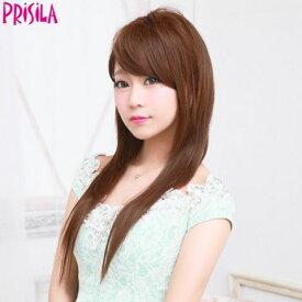 プリシラ ハーフキャップ【ナチュカワストレート】J-806耐熱 (送料無料)