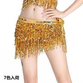 送料無料 ベリーダンス衣装 ヒップスカーフ  ヒップスカーフ アラビアン 衣装 サンバ 衣装 ステージ 練習着 レッスンウェア 7色入荷DP130z