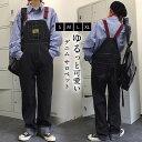 ヴィンテージ感を演出する、オーバーオールの登場です!オーバーオール デニム サロペット メンズ レディース 春 春服 大きいサイズ 韓国ファッション S/M/L /LLダンス ユニセックス 可愛い お