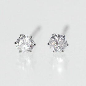 【開店記念セール】選べる!プラチナ・ダイヤモンド0.1ctスタッドピアス