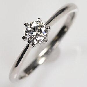 婚約指輪 プラチナ ダイヤモンド0.3ct(SIクラス・鑑別書カード付) エンゲージリング プラチナダイヤモンドリング(指輪)