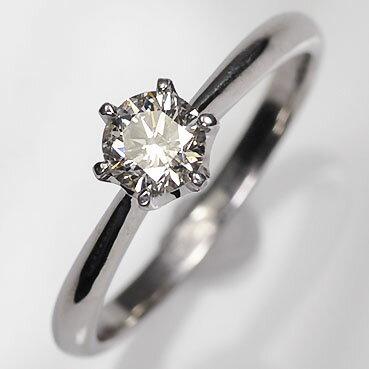 婚約指輪 プラチナ ダイヤモンド0.5ct(SIクラス・鑑別書カード付) エンゲージリング(指輪) プラチナダイヤモンドリング 【 婚約指輪 】【 プロポーズリング 】