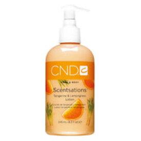 CND センセーション ハンド&ボディ ローション タンジェリン&レモングラス 245ml