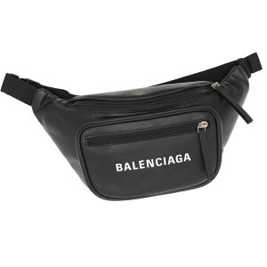 バレンシアガ ウエストポーチ ベルトバッグ ショルダーバッグ 531933 DLQ8N 1060 BALENCIAGA ブラック メンズ レディース レザー ギフト プレゼント 新品 正規品 クリスマス ギフトラッピング対応