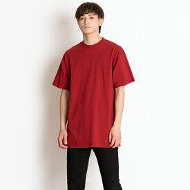 バレンシアガ Tシャツ オーバーサイズ BALENCIAGA メンズ 556150 TCV25 6064 レッド 胸ロゴ XS コットン 送料無料