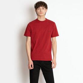 バレンシアガ Tシャツ BALENCIAGA メンズ 556151 TCV25 6064 レッド 胸ロゴ XS コットン 送料無料