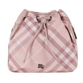 【アウトレット】 バーバリー リュック burberry チェック キッズ用 バッグ ピンク 子供用 リュックサック