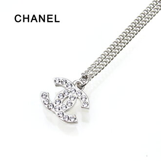 chanel necklace. chanel necklace silver a28942 cc mark / crystal 02p30nov13 chanel l