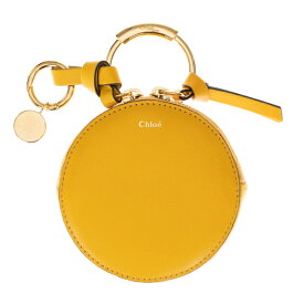 クロエ 財布 Chloe コインケース アルファベット ALPHABET キーリング付き イエロー系 レディース レザー CHC17WP950H1Z776 coin purses Dark Ochre 送料無料