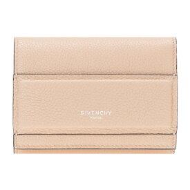 ジバンシー GIVENCHY 財布 三つ折り財布 レディース BC06789037 HORIZON ホライゾン POWDER ベージュ系 送料無料