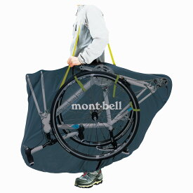 mont bell モンベル輪行バッグ mont-bell コンパクト モンベルリンコウバッグ 輪行袋 グラファイト 収納 自転車 ロードバイク 旅行 肩掛け 持ち運び